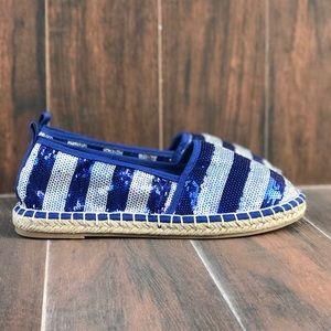 cf5c9ac078c Boutique Shoes - Sequin Jute Sole Espadrille Loafers